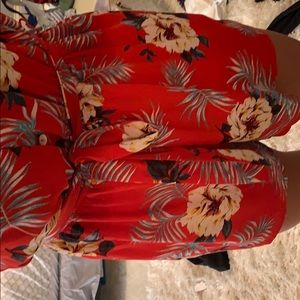 As U Wish Other - floral romper!